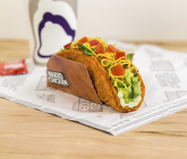 Taco Bell Exposes The Naked Chicken Chalupa Launches Nationwide