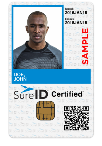 The SureID Certified Edge solution offers identity proofing, facilitation of recurring background sc ...