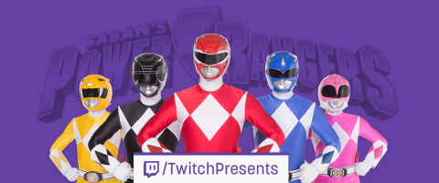 Twitch is livestreaming a 17-day marathon of the iconic Saban's Power Rangers TV series, spanning 23 seasons and featuring all 831 episodes. (Graphic: Business Wire)