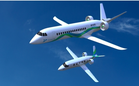 Zunum Aero, backed by Boeing and JetBlue Technology Ventures, is developing hybrid-electric aircraft for fast and affordable travel up to 1,000 miles (Photo: Business Wire)