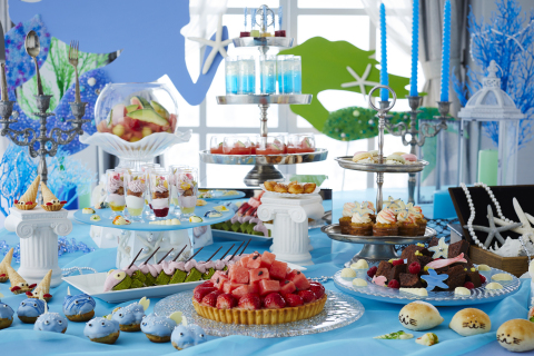 "Keio Plaza Hotel Tokyo's ""Princess Mermaid Sweets Buffet"" will offer desserts patterned after variou ..."