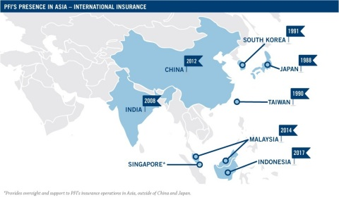 Prudential Financial, Inc. (PFI), launched its first life insurance business in Asia in Japan in 198 ...