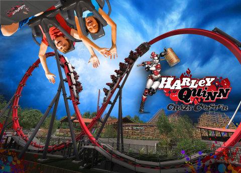 Image result for harley quinn crazy coaster