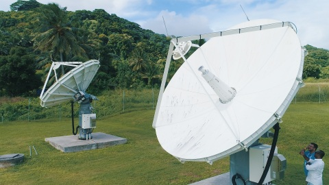 Bluesky Cook Islands increase the amount of satellite capacity it is using from SES Networks to roll ...