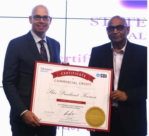 Mr. Prashant Kumar, Deputy Managing Director, State Bank of India (SBI), and Mr. Ari Lehavi, Executi ...