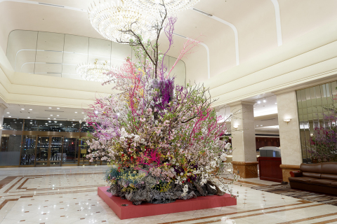 """Ikebana"" Flower Arrangement by Renowned Artist Hiroki Maeno (Photo: Business Wire)"