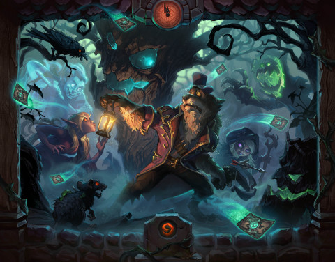 Something spooky is stirring at the heart of The Witchwood™, the next expansion for Hearthstone®, Bl ...