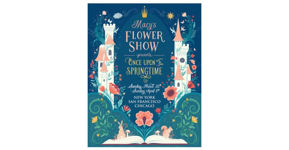 Macy's Flower Show® Presents Once Upon a Springtime – The Daily ...