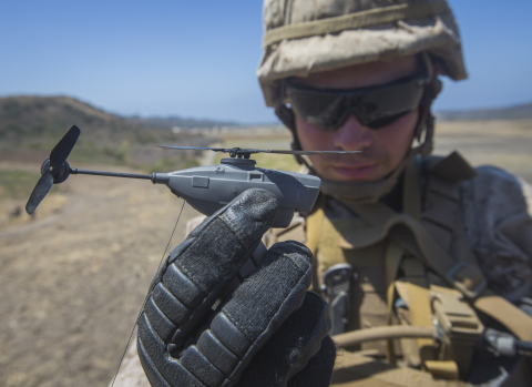 FLIR Black Hornet Personal Reconnaissance Systems (PRS) will support squad-level surveillance and re ...