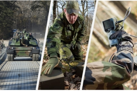 CNIM and Bertin innovative solutions for Defense & Security (Photo: Business Wire)
