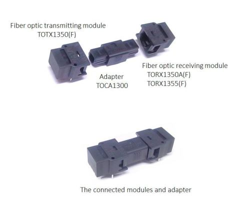 "Toshiba: An adapter ""TOCA1300"" for unidirectional optical modules for short distance data transmissi ..."