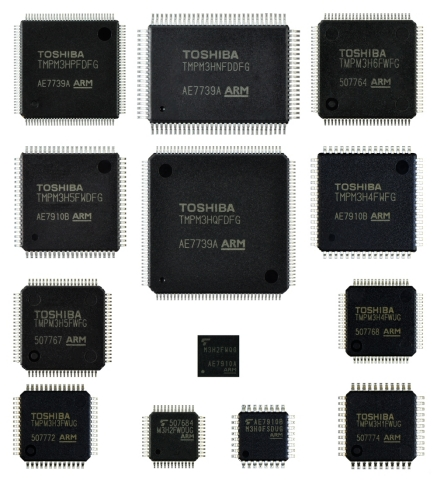 Toshiba: Arm Cortex-M3 core-based