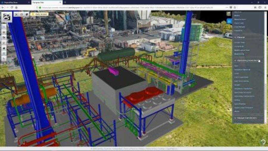 PlantSight brings together data from multiple 3D models including reality meshes in one portal view, ...