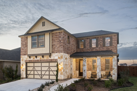 New KB homes now available in Elgin, Texas. (Photo: Business Wire)