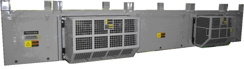 Power converters delivered for the commuter train EMU800 series (Photo: Business Wire)