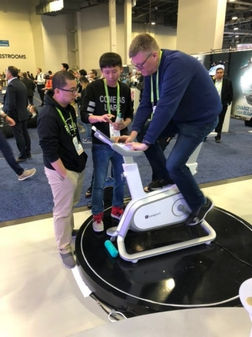 160 Million-User App Keep Debuts KeepKit Terminals at CES 2019, Defining Future of Social Health and Fitness