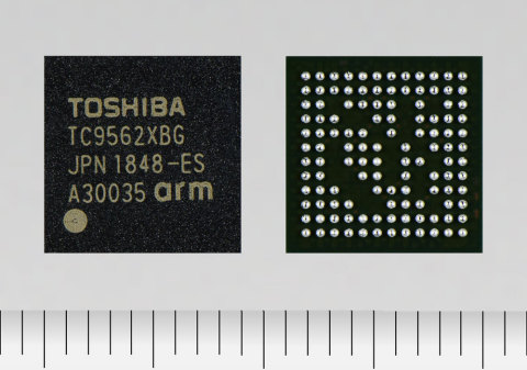 "Toshiba: New Ethernet bridge ICs ""TC9562 Series"" for automotive and industrial applications. (Photo: ..."
