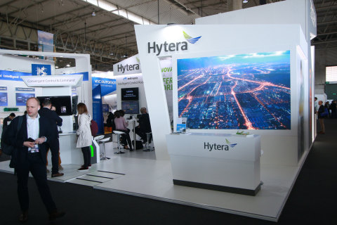 Hytera at MWC 2019 (Photo: Business Wire)