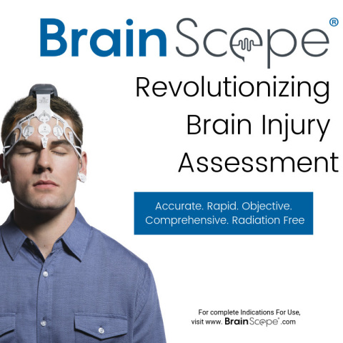 BrainScope®, a medical neuro-technology company focused on concussion and mild traumatic brain injur ...