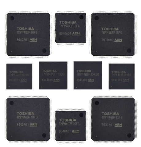 Toshiba: The M4G Group (1) microcontrollers based on the Arm(R) Cortex(R)-M4 core with FPU (Photo: B ...