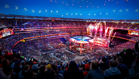 WRESTLEMANIA® SETS RECORD (Photo: Business Wire)