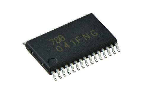 "Toshiba: Three-phase brushless motor sine wave controller IC ""TC78B041FNG"" housed in an SSOP30 packa ..."