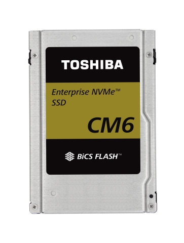 "Toshiba Memory Corporation: Industry's Fastest-class PCIe(R) 4.0 SSDs for Enterprise Applications ""CM6 Series"" (Photo: Business Wire)"