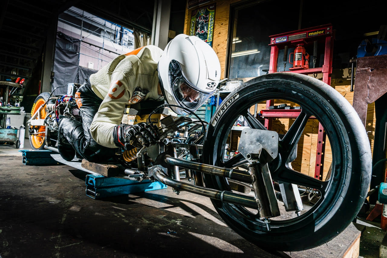 NS TOOL Challenges the World's Fastest-Speed Records in Bonneville