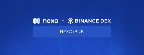 NEXO Tokens Now Trading on Binance DEX (Graphic: Business Wire)