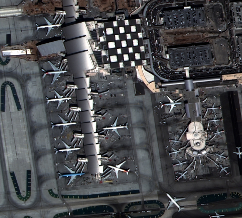 Featured image: SuperView takes a high-resolution image over the Tom Bradley International Terminal at LAX, September 19, 2019. (Photo: Soar)