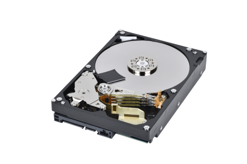 Toshiba: The DT02-V Surveillance HDD Series, high areal density Surveillance 6TB HDD. (Photo: Business Wire)