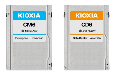 Kioxia Corporation: PCIe(R) 4.0 NVMe(TM) Enterprise and Data Center SSDs (Photo: Business Wire)