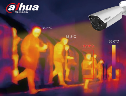 Dahua Thermal Solution to Measure Human Body Temperature (Photo: Business Wire)