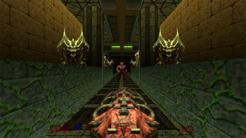 Take the fight to Hell with DOOM 64 on the Nintendo Switch system, available on March 20. (Photo: Business Wire)