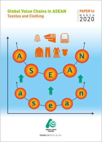 """Global Value Chains in ASEAN: Textiles and Clothing"" issued by AJC (Graphic: Business Wire)"