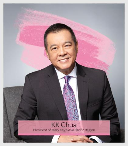KK Chua – President, Mary Kay Asia Pacific Region  (Photo: Mary Kay Inc.)