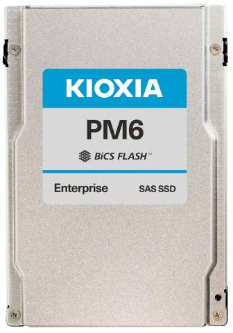 Kioxia PM6 Series: Industry's First 24G SAS SSDs for Servers and Storage (Photo: Business Wire)
