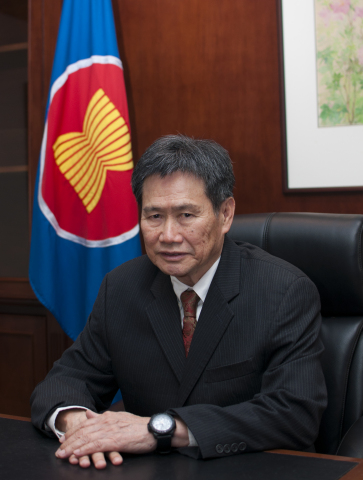 H.E. Dato Lim Jock Hoi, Secretary-General of ASEAN, delivered his keynote address (Photo: Business Wire)