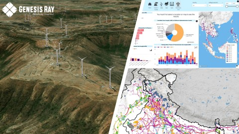 GenRay Explorer - A GIS based Infrastructure Mapping Tool (Photo: Business Wire)