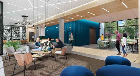 Starcity Minna San Francisco Lobby (Rendering) (Graphic: Business Wire)