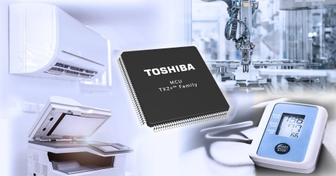 Toshiba: TXZ+(TM) family advanced class 32-bit microcontrollers (Graphic: Business Wire)