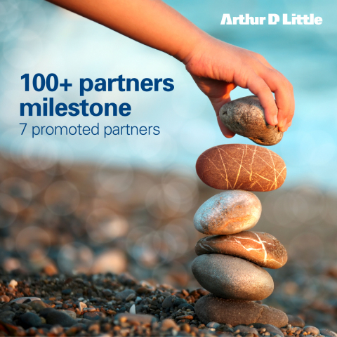 Arthur D. Little has reached the 100+ partners milestones, with the promotion of seven partners. (Photo: Business Wire)