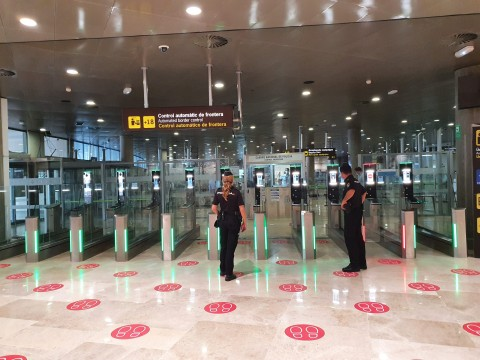 ABC Gates at Valencia Airport (Photo: Thales)