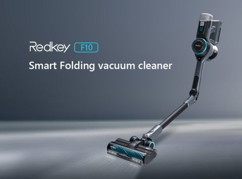 From Factory Directly to Home, Redkey F10 Smart Folding Vacuum Cleaner Offers Amazing Cost-Effectiveness. (Graphic: Business Wire)