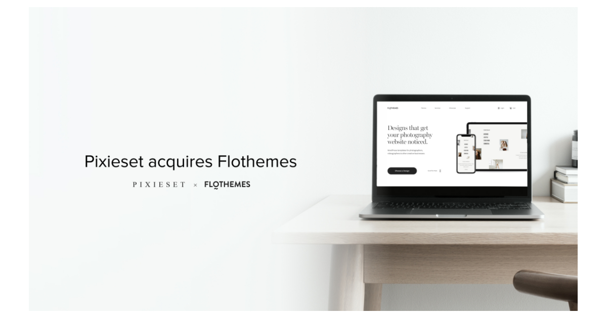 Pixieset Acquires Flothemes, Leading Provider of WordPress Website Designs for Photographers and Creatives - Business Wire