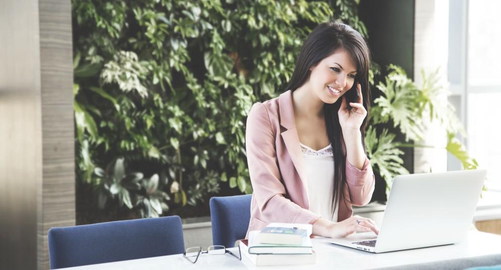 Woman in Job Search