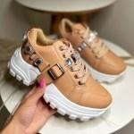 Tênis Chunky Feminino com Pedraria Removível Conforto e Estilo Loja Online MM Store Shoes (7)