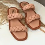 Rasteira Feminina de Tranças fofinhas Confortaveis Moda e Tendência Verão 2021 22 Loja Online mm store shoes (6)