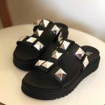 Chinelo Flat Feminino Preto Com Taxas Coleção Verão Loja Online MM Store Shoes (4)