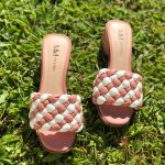 Tamanco Feminino Rose com Branco Salto bloco Baico Conforty Nova Coleção Verão Loja Online MM Store Shoes (17)